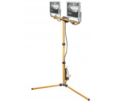 Прожекторы светодиодные ДО-2х50w (100w) на штативе 4000К 6000Лм IP65 (71323 NFL-M)