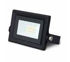 Прожектор светодиодный ДО-10Вт 6500К IP65 6500К черный Qplus Gauss