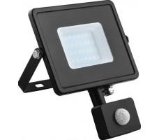 Прожектор светодиодный ДО-20w с ИК датчиком 6400K 1900Лм IP44 (LL-906)