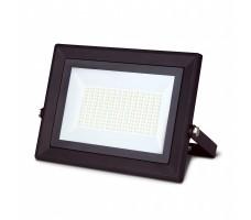 Прожектор светодиодный ДО-100Вт 6500К IP65 6500К черный Qplus Gauss