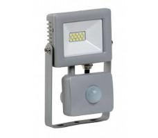 Прожектор светодиодный ДО-10w с ИК датчиком 6500К 800Лм IP44 (СДО07-10Д)