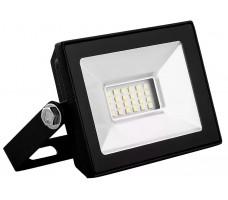 Прожектор светодиодный ДО-10w 4000К 900Лм IP65 черный (SFL90-10)