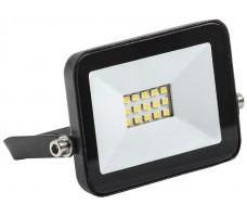 Прожектор светодиодный ДО-10w IP65 6500K черный (613100310)