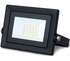Прожектор светодиодный ДО-20Вт 6500К IP65 6500К черный Qplus Gauss (613511320)