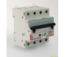 Дифференциальный автомат Legrand 4-полюсный 16А 30мА