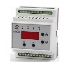 Реле напряжения РНПП-302 трехфазное регулируемое крепление на DIN-рейку вольтметр