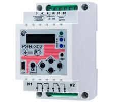 Таймер РЭВ-302 многофункциональный программируемый годовой с функциями реле напряжения и фотореле