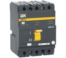 Выключатель автоматический IEK ВА 8833 160А 35кА 3-п