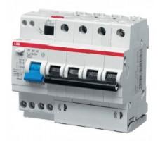 Дифференциальный автомат ABB 4-полюсный С10 30мА