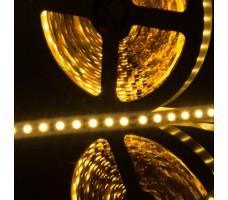 Светодиодная лента открытая белого теплого свечения 3528 600 LED, IP 20, 9,6 Вт/м, 12V