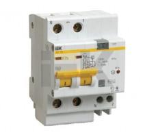 Выключатель автоматический дифференциальный АД-12М 2п 16А 30мА С (MAD12-2-016-C-030)
