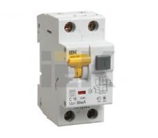 Выключатель автоматический дифференциальный АВДТ-32 1п+N 16А 10мА B
