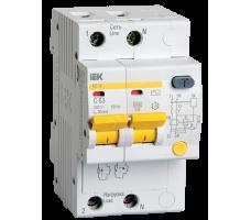 Выключатель автоматический дифференциальный (АВДТ) 2п 63А 30мА АД-12 С