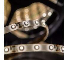 Светодиодная лента герметичная белого теплого свечения 3528 300 LED, IP 65, 4,8 Вт/м, 12V
