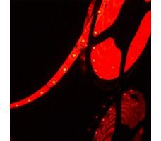 Светодиодная лента герметичная красного свечения 3528 300 LED, IP 65, 4,8 Вт/м, 12V
