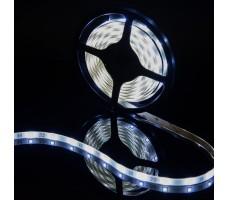 Светодиодная лента герметичная белого холодного свечения 5050 150 LED, IP 65, 7,2 Вт/м, 12V