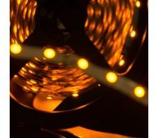 Светодиодная лента открытая желтого свечения 3528 300 LED, IP 20, 4,8 Вт/м, 12V