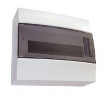 Щит распределительный встраиваемый ЩРв-п Mistral41 18М пластиковый прозрачная дверь с клеммами