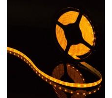 Светодиодная лента герметичная желтого свечения 5050 300 led, IP65, 14,4 Вт/м, 12V