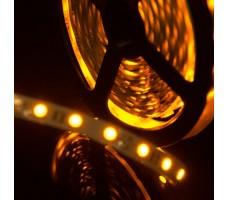 Открытая светодиодная лента желтого свечения 5050 300 led, IP 20, 14,4 Вт/м, 12V