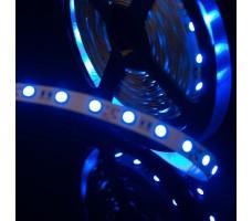 Светодиодная лента открытая синего свечения 5050 300 led, IP20, 14,4 Вт/м, 12V