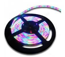 Светодиодная лента открытая многоцветная 5050 300 LED, IP 20, 14,4 Вт/м, 24V