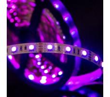 Светодиодная лента открытая многоцветная 5050 300 LED, IP 20, 14,4 Вт/м, 12V