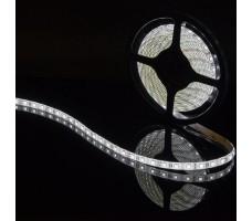 Герметичная светодиодная лента белого холодного свечения 5050 300 led, IP 65, 14,4 Вт/м, 12V