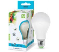 Лампа светодиодная LED-A60-standard 15Вт Е27 4000К ASD