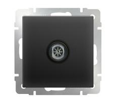 ТВ-розетка оконечная Werkel черная