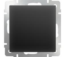 Выключатель одноклавишный Werkel Черный