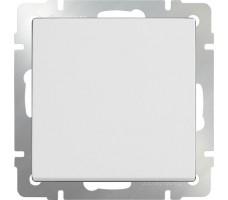 Выключатель одноклавишный Werkel белый