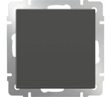 Выключатель одноклавишный Werkel Серо-коричневый