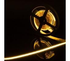 Светодиодная лента открытая теплого белого свечения 3014 1200 LED, IP 20, 24 Вт/м, 12V