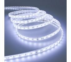 Светодиодная лента герметичная холодного белого свечения 5050 600 LED, IP 65, 28,8 Вт/м, 24V
