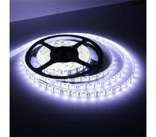 Светодиодная лента открытая холодного белого свечения 5050 600 LED, IP 20, 28,8 Вт/м, 24V