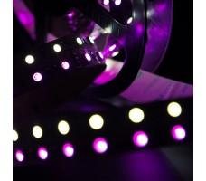 Светодиодная лента открытая многоцветная RGB+белый 5050 600 LED, IP20, 28,8 Вт/м, 24V