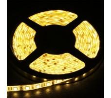 Светодиодная лента открытая теплого белого свечения 5050 600 LED, IP 20, 28,8 Вт/м, 24V