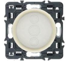 Светорегулятор сенсорный Legrand Celiane 400Вт с лицевой панелью (слоновая кость)