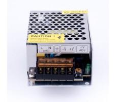 Блок питания для светодиодной ленты 12В, 35Вт, 3А, IP20, корпус из перфорированного металла