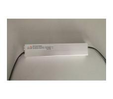 Блок питания для светодиодной ленты 12В, 100Вт, IP67, ультратонкий защищенный в металлическом корпусе, XTW-100-12