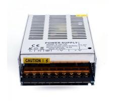 Блок питания для светодиодной ленты 12В, 150Вт, 12,5А, IP20, корпус из перфорированного металла
