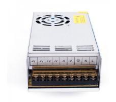 Блок питания для светодиодной ленты 12В, 400Вт, 33,33А, IP20, в корпусе из перфорированного металла