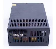 Блок питания для светодиодной ленты 12В, 600Вт, 50А, IP20, корпус из перфорированного металла