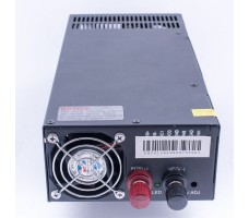 Блок питания для светодиодной ленты 12В, 1500Вт, 125А, IP20, корпус из перфорированного металла