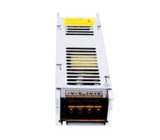 Блок питания для светодиодной ленты 12В, 12,5А, 150Вт, IP20, компактный (узкий)