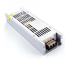 Блок питания для светодиодной ленты 12В, 16,6А, 200Вт, IP20, компактный (узкий)