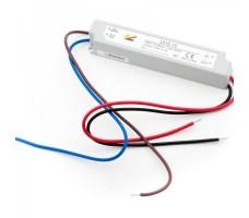 Блок питания для светодиодной ленты 12В, 1А, 12Вт, IP67, герметичный в пластиковом корпусе