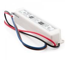 Блок питания для светодиодной ленты 12В, 1,25А, 15Вт, IP67, герметичный в пластиковом корпусе