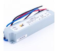 Блок питания для светодиодной ленты 12В, 1,67А, 20Вт, IP67, герметичный в пластиковом корпусе